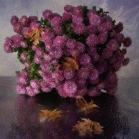 Осенние хризантемы :: Ирина Приходько