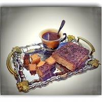 Кофе с вафельным тортиком! :: A. SMIRNOV
