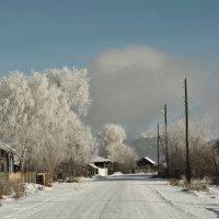 Сибирская деревня, конец октября :: Сергей Шаврин