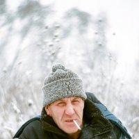 Суровый зимний портрэт :: Евгений Золотаев