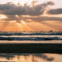 Средиземноморский закат .... :: Aleks Ben Israel