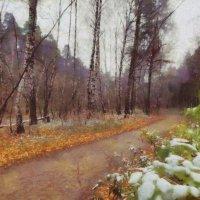 Я выстелю тебе дорогу в Осень,  Багряною и жёлтою листвою, И в небо синее слегка добавлю проседь, И :: ALISA LISA