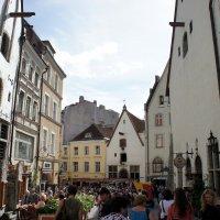 Площадь Вана Тург - это бывшая рыночная площадь (Vana Turg так и переводится: Старый рынок) :: Елена Павлова (Смолова)