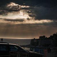 Закатное небо. :: Татьяна Калинкина