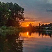 Закат на озере Городец :: Александр Березуцкий (nevant60)