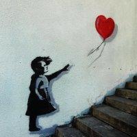 Рисунок на стене в переходе :: татьяна