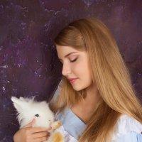 Алиса и белый кролик :: Евгения Лисина