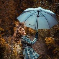 Полет на зонтике :: Инга Мысловская