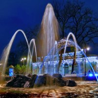 фонтан у Зимнего стадиона СПБ :: ВЛАДИМИР