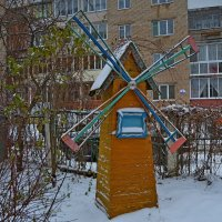 Снежная мельница :: Vladimir Semenchukov