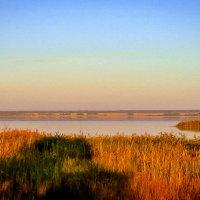 Гуселетовские озера, закат. :: Лариса Димитрова