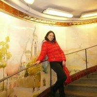 Парижское метро.Станция Монмартр :: Galina
