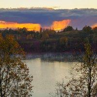 Осенний закат :: Анатолий