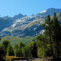 Софийский ледник с водопадами и г. София (3642м). :: Vladimir 070549