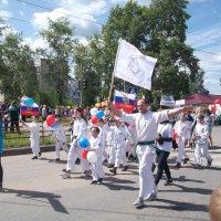 Колонна спортсменов :: Svetlana Lyaxovich