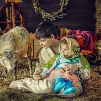 Дети и баран :: Ольга Невская