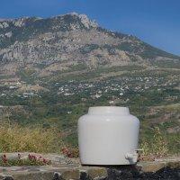 Кафе с видом на горы... :: Ирина Шарапова