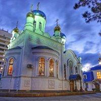 Православный храм в сумерках :: Андрей Майоров