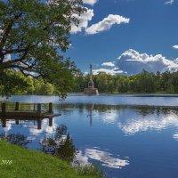 Царское Село. Екатеринский парк. Чесменский обелиск. :: Александр Истомин