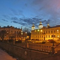 вечер у Никольского собора :: Елена
