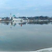Волжская первоснежная  панорама! :: Алла ************