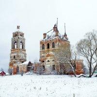 Разрушенные храмы.... :: Елена Панькина