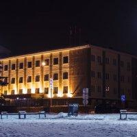 Здание Администрации моего маленького города :: Марина