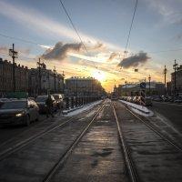 городские закаты :: ник. петрович земцов