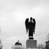 ангел у храма :: Наталья Сазонова