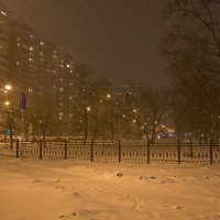 Ноябрьская метель :: Александр Лебедевъ