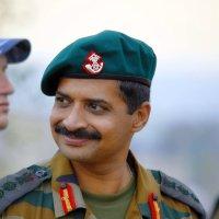 Командир подразделения индийской армии - гость на Кургане. :: Aлександр **