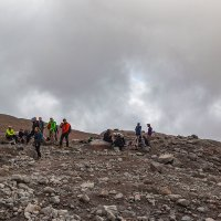 Перед ледником Гергети 1 ( 3 100 м ) :: Вячеслав Шувалов