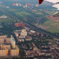Под крылом самолета родные просторы :: Сергей Бурлакин