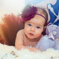Малышка в студии впервые :: марина алексеева