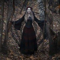 В осеннем лесу в канун Хеллоуина :: Анастасия Kashmirka