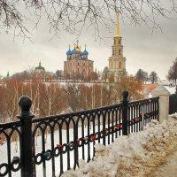 Г. Рязань, вид на кремль :: Валерий Толмачев