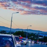 Шествие колонны Субаристов в честь Дня Города!!! :: Наталья Александрова