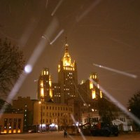 Зима приходит в Москву :: Аlexandr Guru-Zhurzh