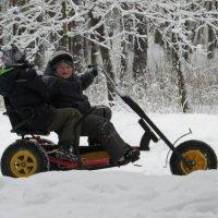 Дети рады зиме! :: Вера Щукина