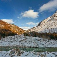 Река и горы :: Анатолий Иргл
