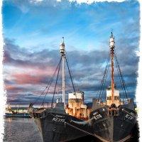 Последние китобои с паровым двигателем :: Alexander Dementev