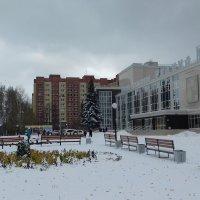 В город пришла зима. :: Мила Бовкун