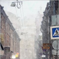 снегопад по-питерски :: sv.kaschuk