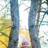 Прогулка в осеннем лесу :: Мария Саянова