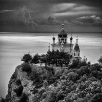 Храм на горе. :: Анатолий 71