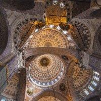 Своды Новой мечети в Стамбуле (Yeni Camii) :: Ирина Лепнёва
