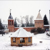 Монастырские башни.. :: марк