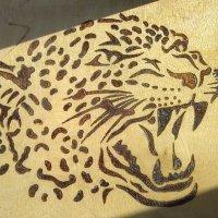 """Выжигание """"леопард"""" :: Дмитрий Гринкевич"""
