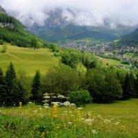 Пейзаж в Альпах :: Ирина Зубарева