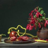 Натюрморт с помидорами :: Ольга Дядченко